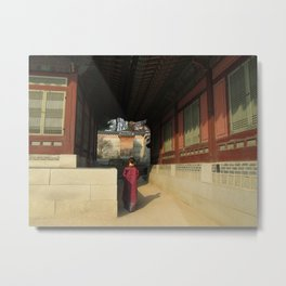 Palace in Seoul, South Korea Metal Print