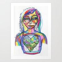 My Silver Lining Art Print
