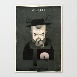 010_directportrait_Orson welles Canvas Print