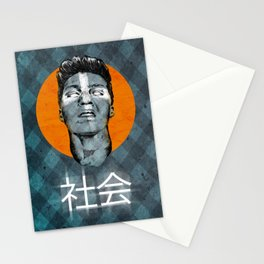 GRITTY SMILE Stationery Cards