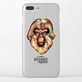Planet of the Apes - Dr. Zaius Clear iPhone Case