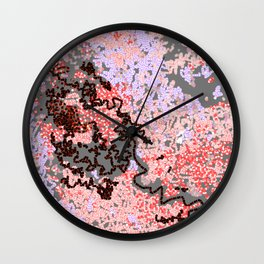 Life on the rock Wall Clock