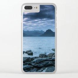 The Dark Cuillin II Clear iPhone Case