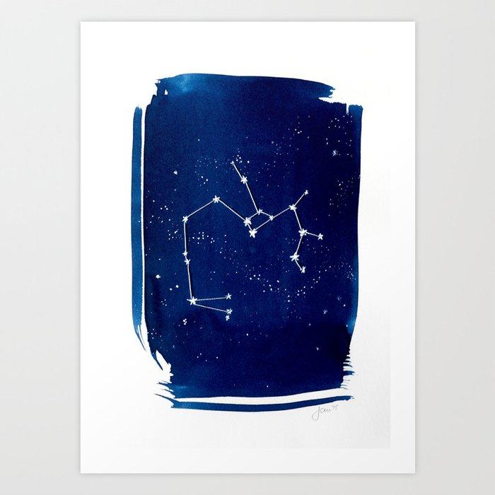 Saggitarius Zodiac Print Art Print