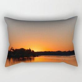 Sunset at Sunset Bay Rectangular Pillow