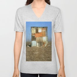 Double Exposure with Rauschenberg in Mind, 2007 Unisex V-Neck