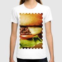 hamburger T-shirts featuring Hamburger by Mauricio Togawa
