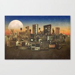 Audiopolis 1 Canvas Print