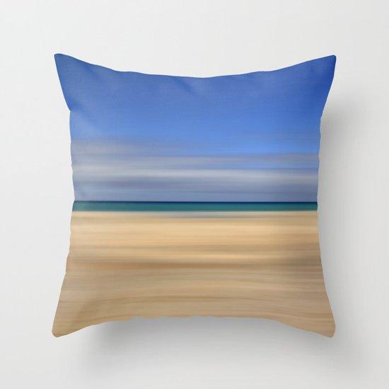 summer beach II Throw Pillow