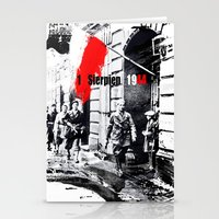 poland Stationery Cards featuring Warsaw Uprising, Poland - 1944 by viva la revolucion