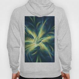Fractal Flower Blue Palette Hoody