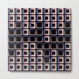 Composition of squares Metal Print