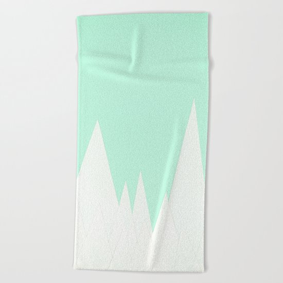 Winter Landscape Beach Towel