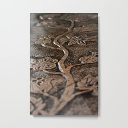 Carved Nature Metal Print