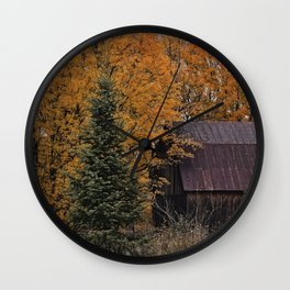 Blazing Country Wall Clock