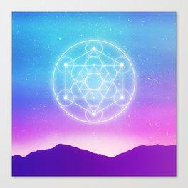 Sacred Geometry (Metatron) Canvas Print