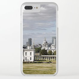Greenwich Campus sits on a World Heritage Site and is located in the heart of Greenwich Clear iPhone Case