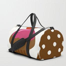 chocolate cupcake Duffle Bag