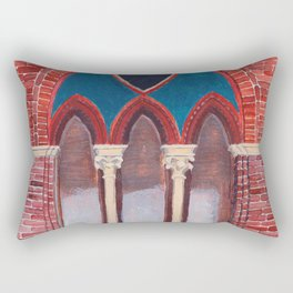 Finestra a Siena Rectangular Pillow