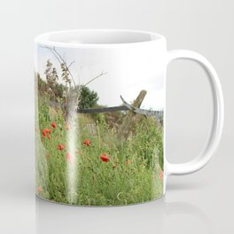 Poppies on a Hill Coffee Mug