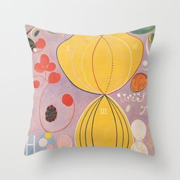 Hilma af Klint - The Ten Largest, Adulthood Throw Pillow