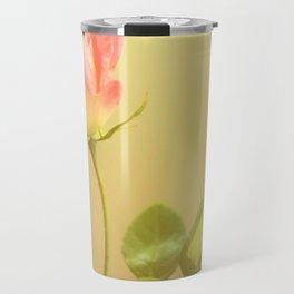 Single Rose Travel Mug