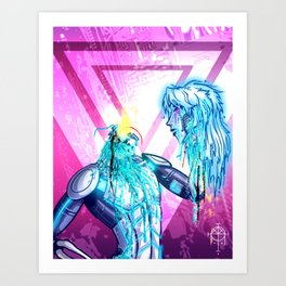 Flesh And Blood Art Print