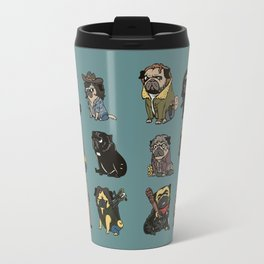 The Walking Pug Travel Mug