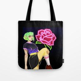 Rottie neon Tote Bag