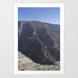 Jebel Shams, Oman Art Print