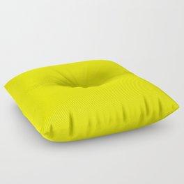 Bright Fluorescent Yellow Neon Floor Pillow