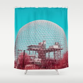 Surreal Montreal 6 Shower Curtain