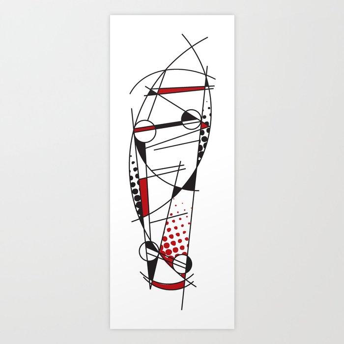 Abskatebt Art Print