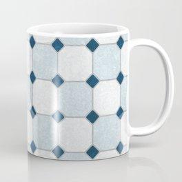 Sky Blue Classic Floor Tile Texture Coffee Mug