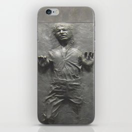 Han Solo Frozen in Carbonite iPhone Skin