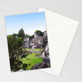 Tikal Guatemala Mayan Ruins Stationery Cards
