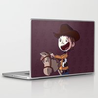 toy story Laptop & iPad Skins featuring Woody Toy Story by Kaori