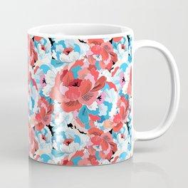 Beautiful vector illustration pattern of colorful flowers Coffee Mug