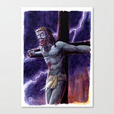 Zombie Messiah Canvas Print