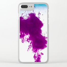 Waves of Love Clear iPhone Case