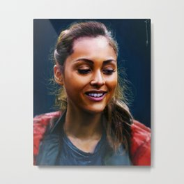Raven Reyes - The 100 Metal Print