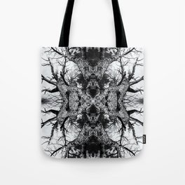 Gnarled Sleep of Forest Giant Tote Bag