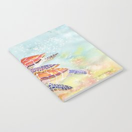 Swimming Together - Sea Turtle Notebook