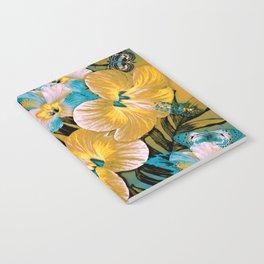Golden Vintage Aloha Notebook