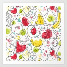 Fruitopia Art Print