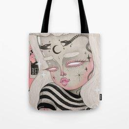 Teenage Ghoul Tote Bag
