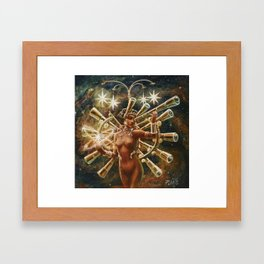 Do The Hubble Shuffle to the Big Bang Boogie Framed Art Print