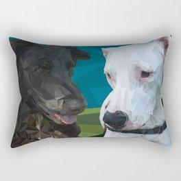 Rocky Dog Rectangular Pillow