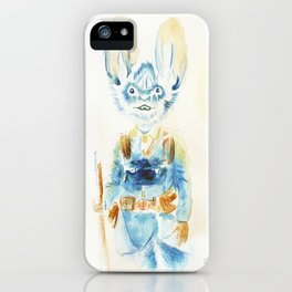 Watercolor Soldier  iPhone Case