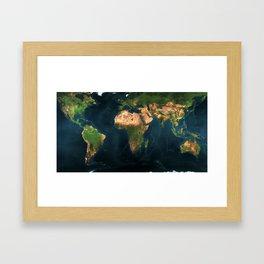"""""""Travel the World"""" Framed Art Print"""